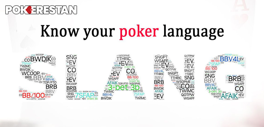 Poker-Slangs