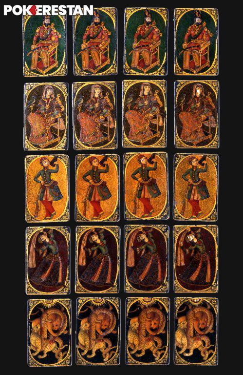 کارت های آس ناس تاریخچه پوکر