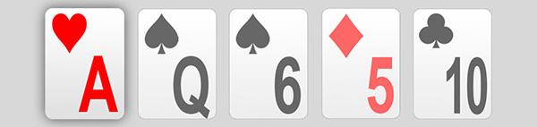 های کارت در پوکر