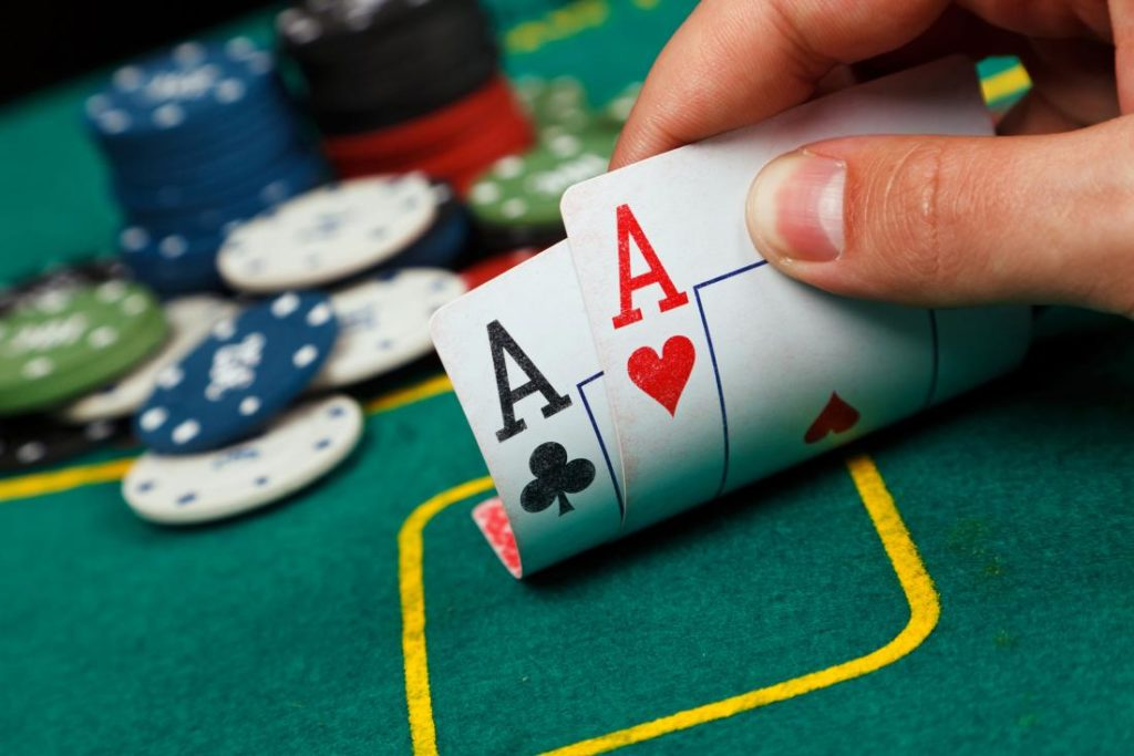 Brains vs AI Computer faces poker pros in no limit Texas Holdem