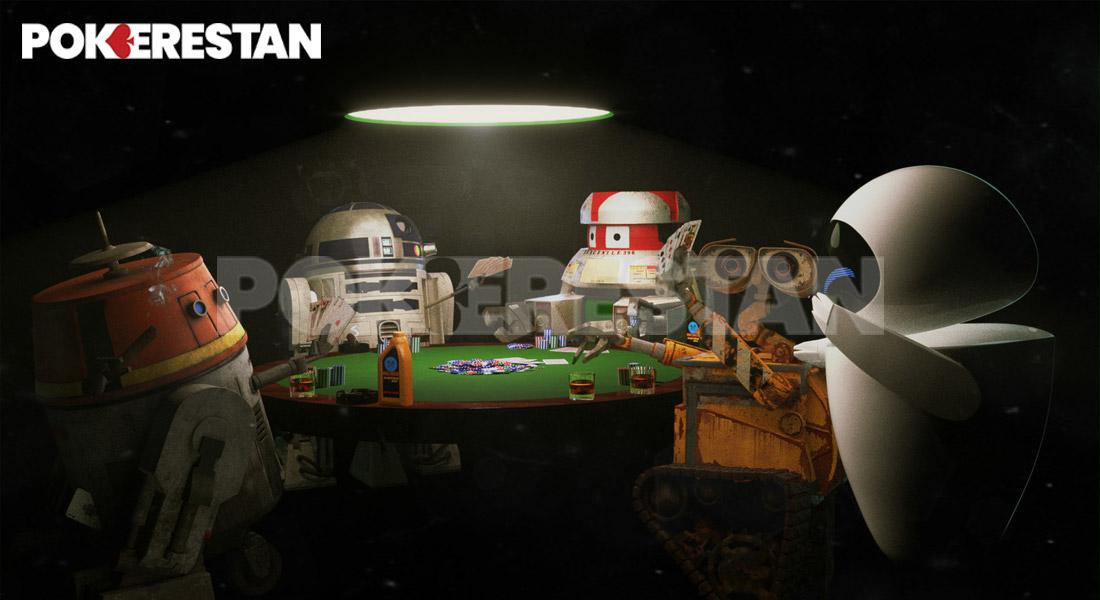 543 روباتهای پوکر