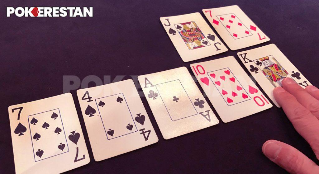 دیل کردن در پوکر Run it Twice Poker
