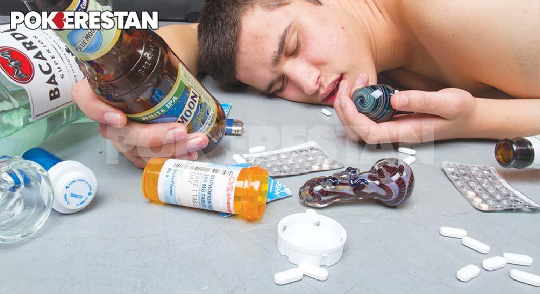 تاثیر مواد مخدر بر عملکرد بازیکنان پوکر