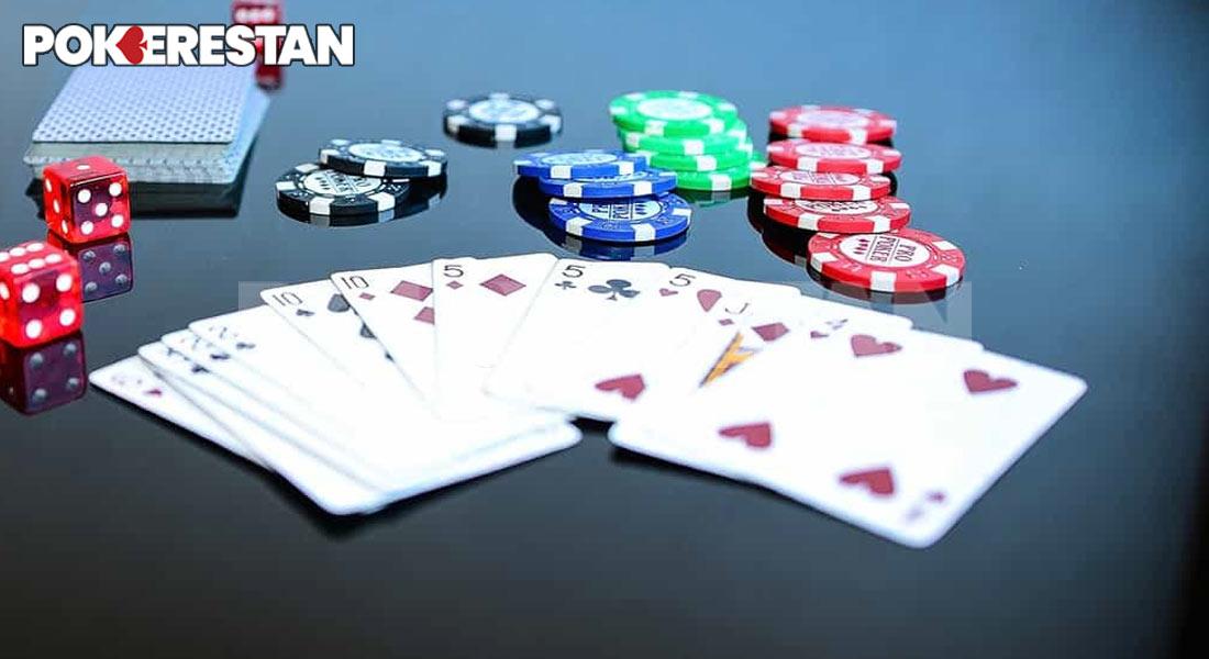 بازی پوکر شوداون در بازی پوکر